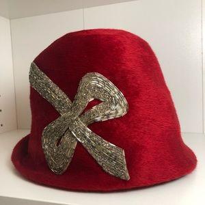 Vintage beaded hat
